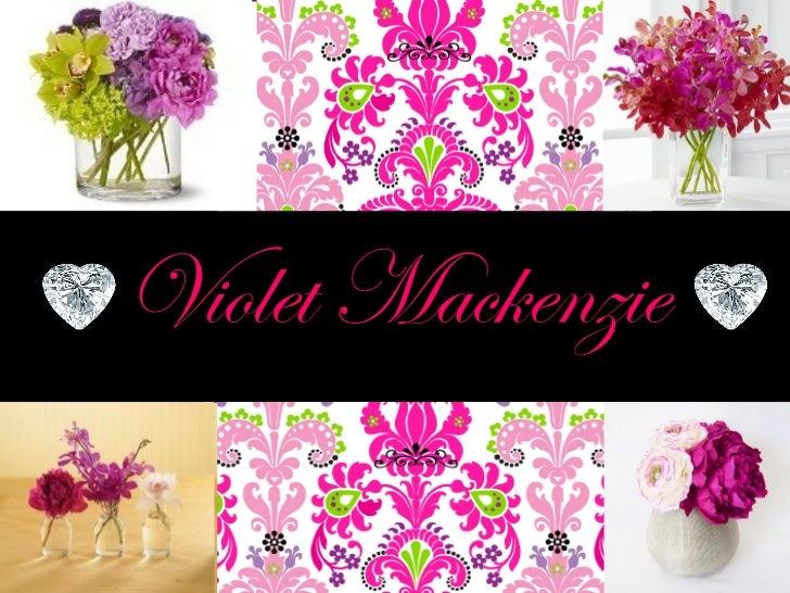 Violet Mackenzie