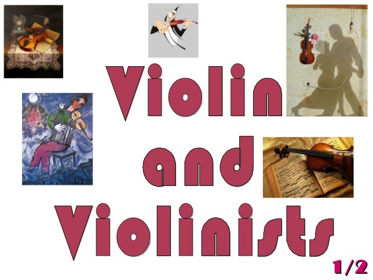 Violin  and  Violinists  1/2