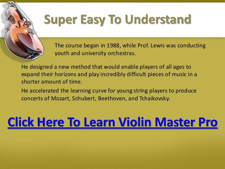 how to play a violin for the first time