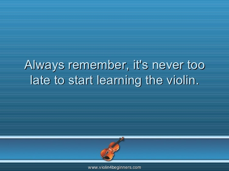 How to Play Violin for Adult Beginners | Curious.com