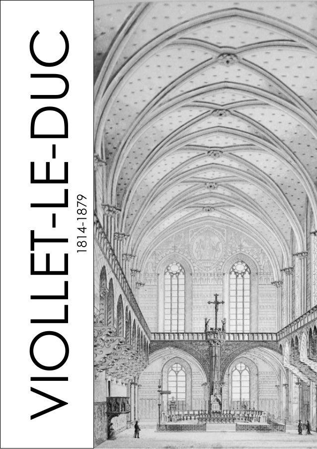 VIOLLET-LE-DUC1814-1879
