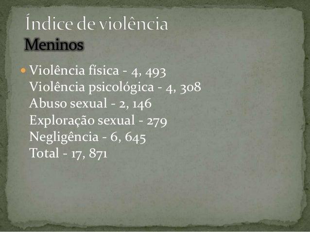  transformação do conceito social de pedofilia;   distinção entre abuso sexual e relações consentidas;   reconhecimento...