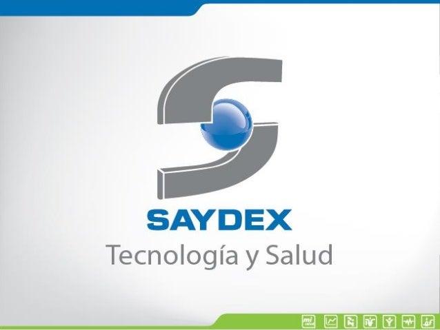 Muchas veces la gente no sabe lo que quiere hasta que se lo enseñas… SAYDEX, Una empresa de Servicios.