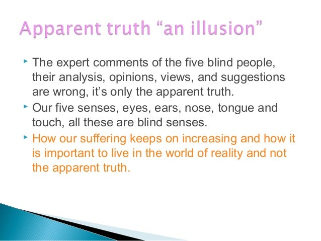  How our Evaluation, Suggestions, Views, Expertcomments, Opinion and Decisions are dependingon the input of the five sens...