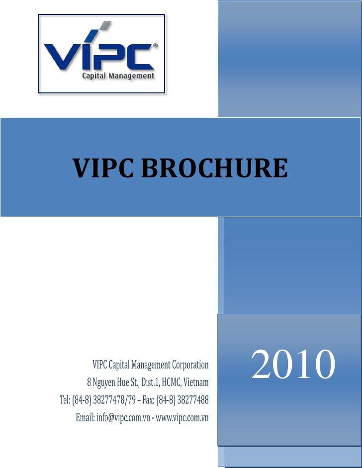 VIPC BROCHURE               2010