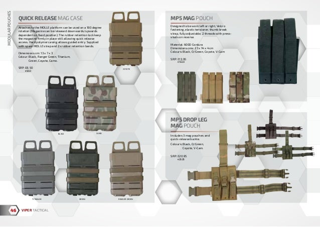 VIPER TACTICAL D-RING WEBBING ATTACHMENT OPERATOR MOLLE CLIP PACK OF 2 COYOTE