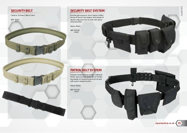 Viper Patrol Belt System Security