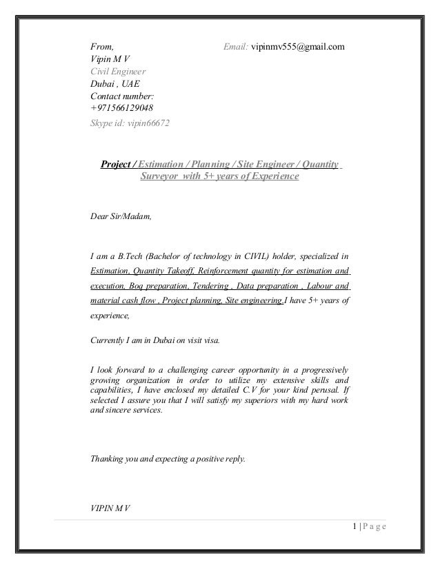 Great Cover Letter For Civil Engineer Images. Civil Engineering ...