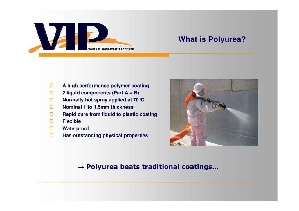 VIP GMBH Polyurea Presentation