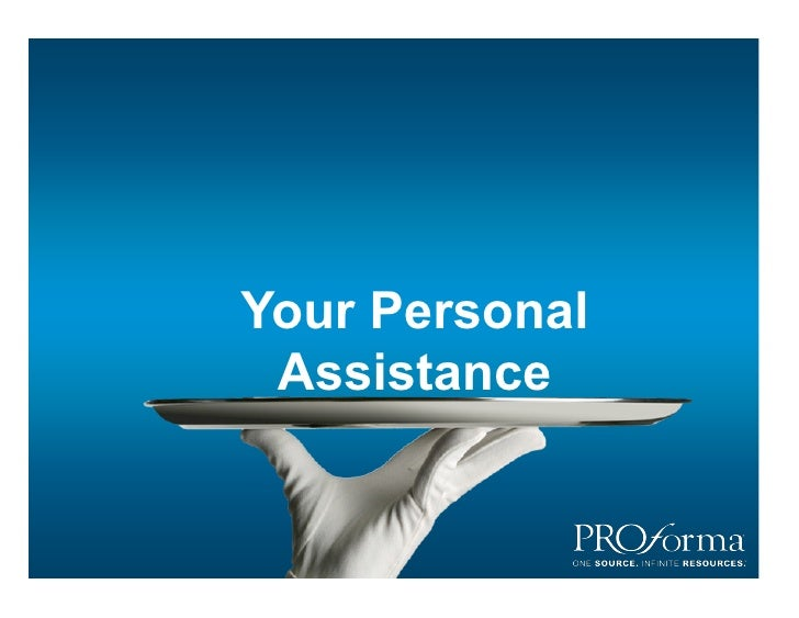 Your Personal  Assistance