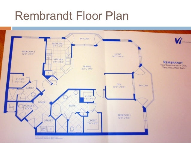 Aging in place interior design for senior living for Rembrandt homes floor plans
