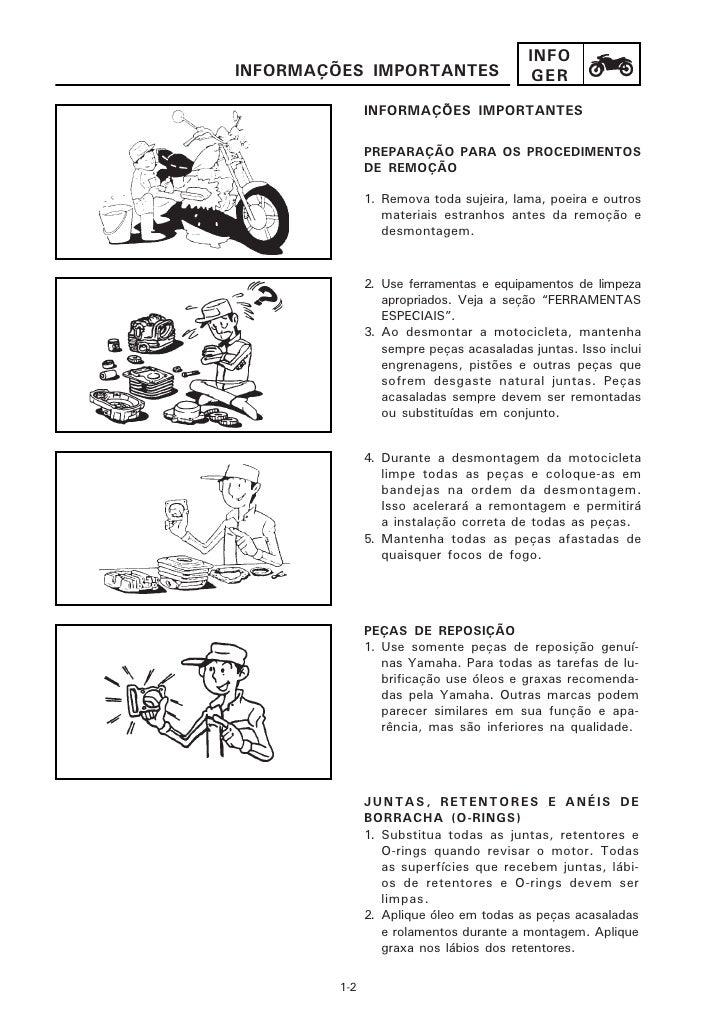 manual da yamaha virago 535 cc rh pt slideshare net manual de peças da virago 250 manual de serviço virago 250 pdf