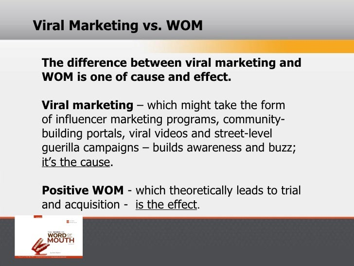 Buzz, viral marketing, and word-of-mouth: what's the difference?