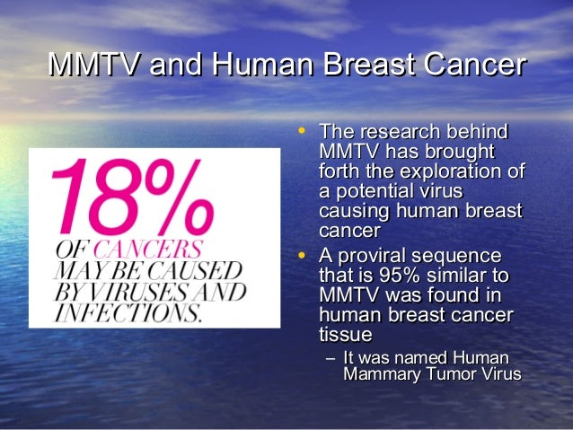 Virus and breast cancer