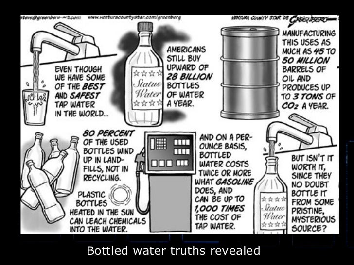 Bottled water truths revealed