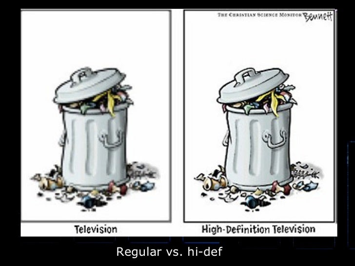 Regular vs. hi-def