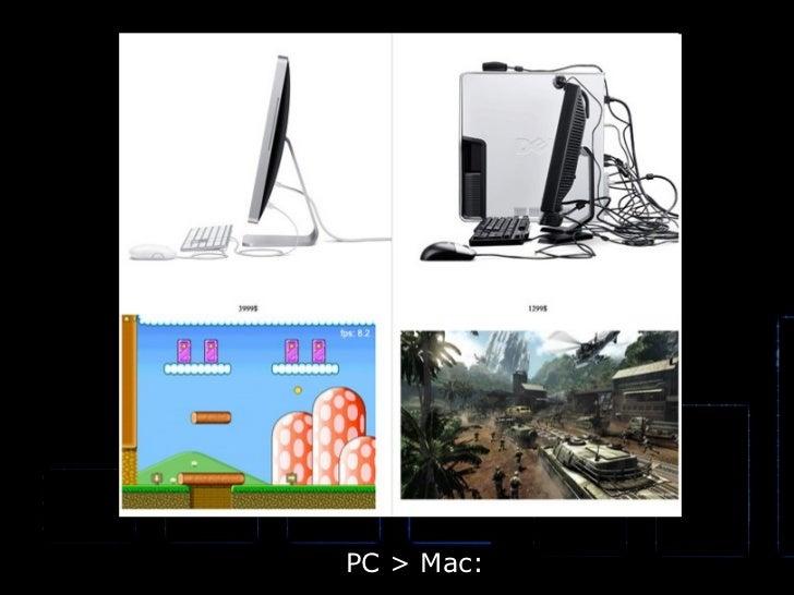 PC > Mac: