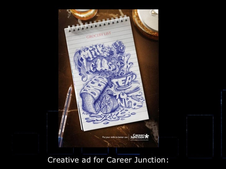Creative ad for Career Junction: