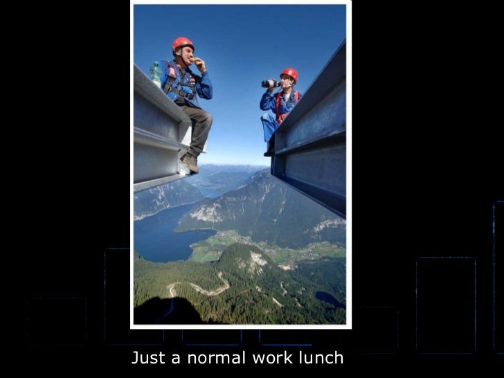 Just a normal work lunch Just a normal work lunch