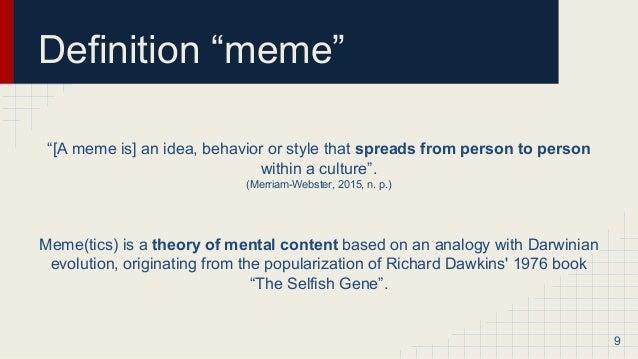 meme definition
