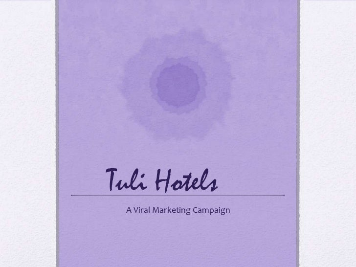Tuli Hotels A Viral Marketing Campaign
