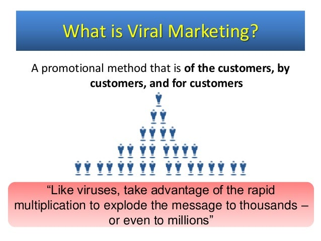 viral marketing techniques advantage disadvantages 2018-6-18 viral marketing is a marketing technique, which uses pre-existing social network to spread a marketing message, creating the scope for exponential growth by the exposure of the message in a layman's term it is buzz marketing or word-of-mouth spread online • • • • • • internet search.
