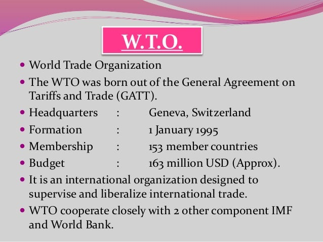 wto and its impact on indian Different agreements of wto & its impact on indian economy  how does demonetization impact indian economy - duration: 5:59  what is globalization and its impact of india .
