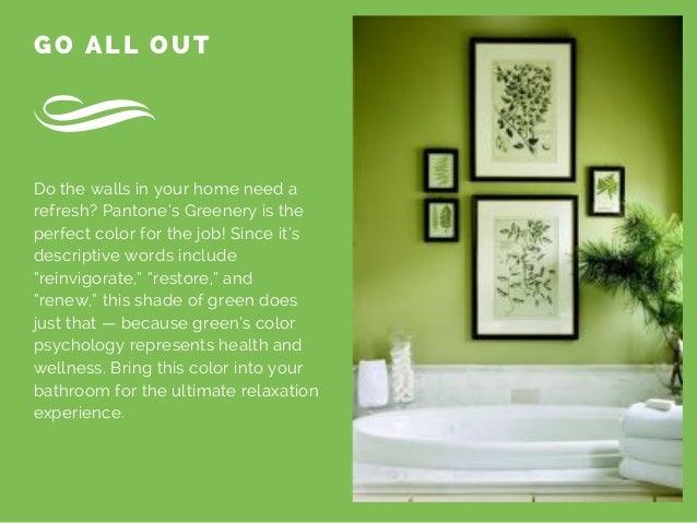 "Interior Design Descriptive Words interior design tips: how to incorporate pantone's ""greenery"""