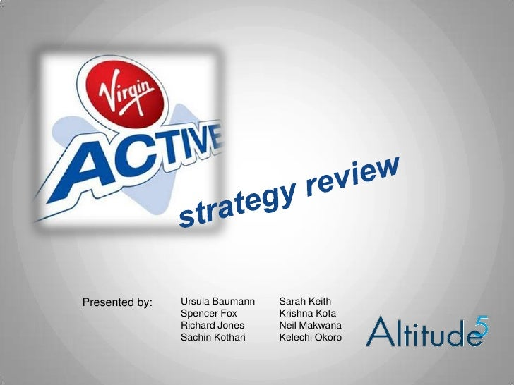 virgin active strategy Virgin active new logo  they've provided key analysis to input into the five year  strategy about where we are as an employer and where we want to be.