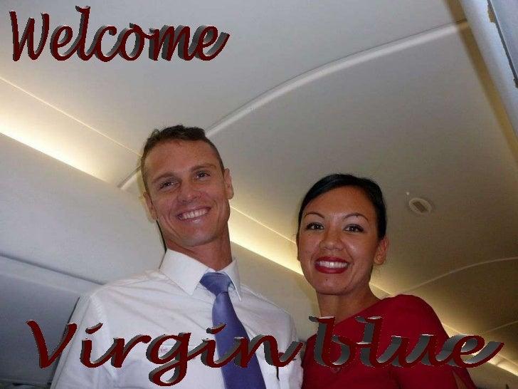 Welcome Virgin blue