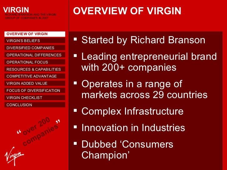 leadership case study virgin group Sir richard branson shares his leadership lessons throughout his journey with  one of the world's most iconic brands, virgin group, at retail's.