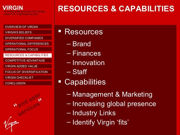 virgin group diversification strategy