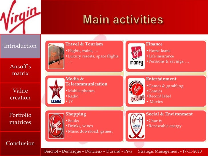 diversification of virgin group Back to top footer navigation richard virgin news in focus entrepreneur  footer navigation 2nd column about us find a virgin company.
