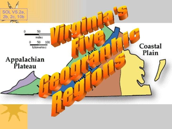 Virginia Regions Powerpoint 1