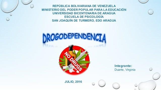 REPÚBLICA BOLIVARIANA DE VENEZUELA MINISTERIO DEL PODER POPULAR PARA LA EDUCACIÓN UNIVERSIDAD BICENTENARIA DE ARAGUA ESCUE...