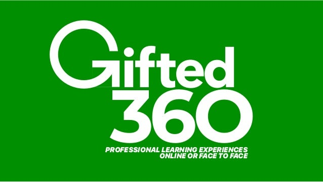 Virginia Gifted Conference October 2020 Slide 3
