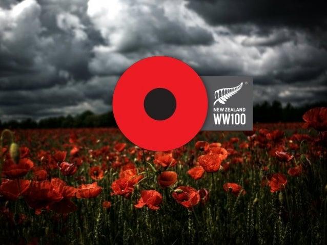 First World War CentenaryProgramme Office• Coordinate New Zealand's response to thecentenary