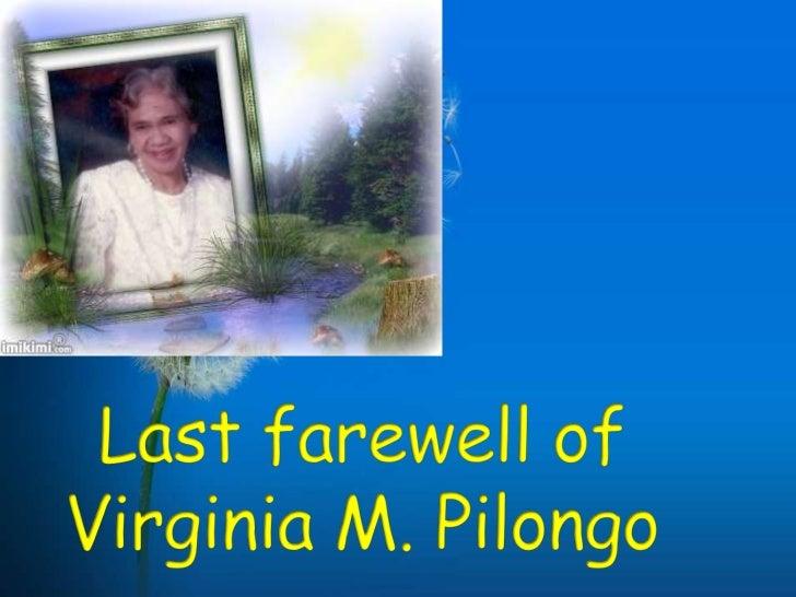 Virginia pilongo