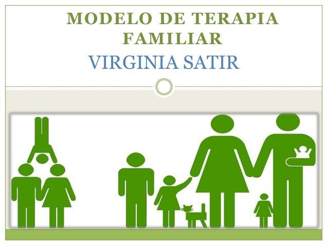 Terapia Familiar Modelo Virginia Satir