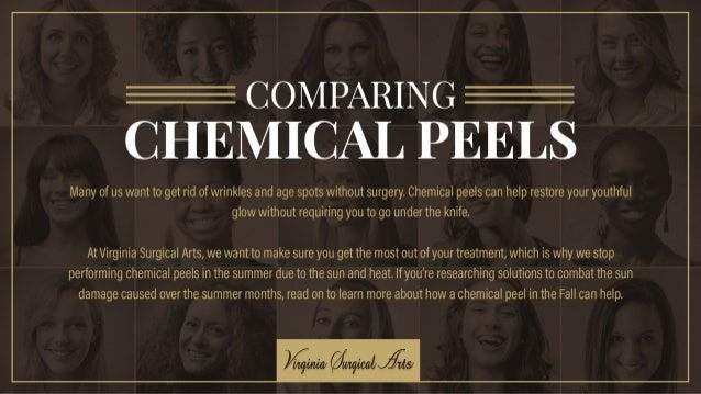 Comparing Chemical Peels