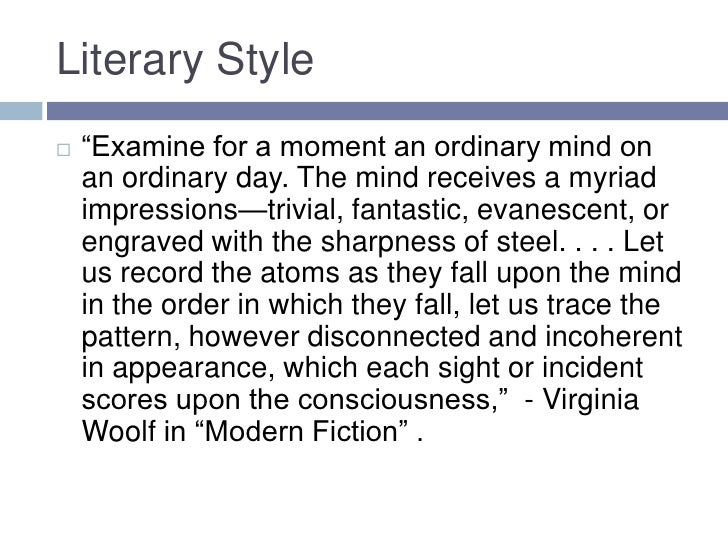 Mr  Bennett and Mrs  Brown  by Virginia Woolf