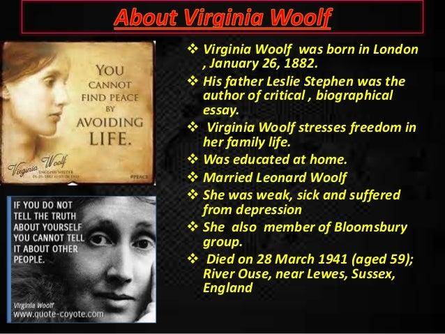 virginia woolf depression
