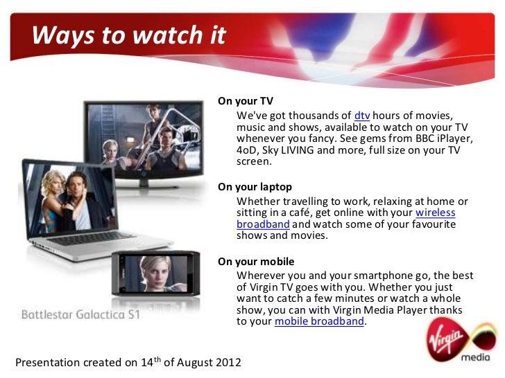 Virgin media tv on demand for Tv on demand