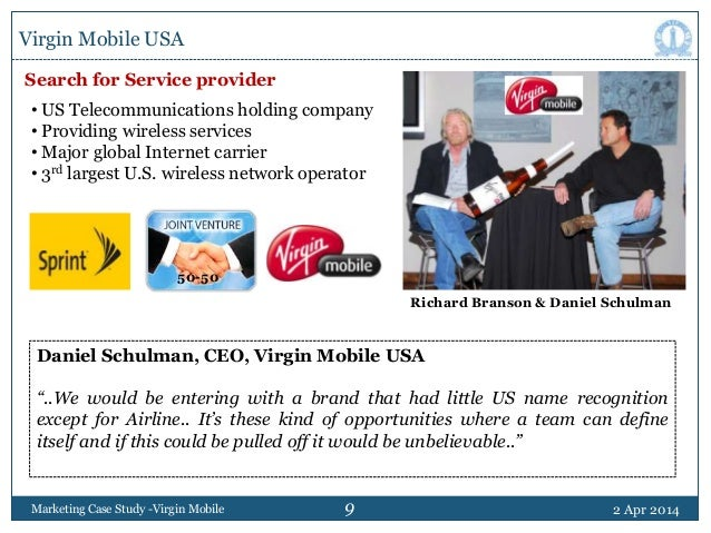 virgin mobile usa pricing for the very first time To maximize their effectiveness, color cases should be printed in color dan schulman, the ceo of virgin mobile usa, must develop a pricing strategy for a new wireless phone service targeted toward consumers in their teens and twenties, many of whom are believed to have poor credit quality and.