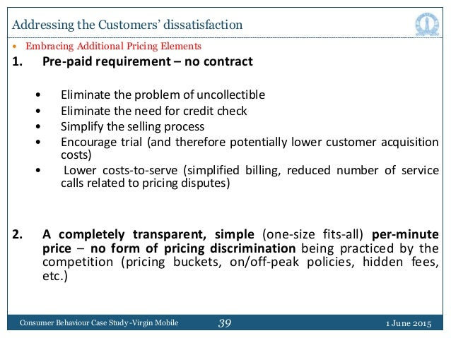 39  Embracing Additional Pricing Elements 1. Pre-paid requirement – no contract • Eliminate the problem of uncollectible ...