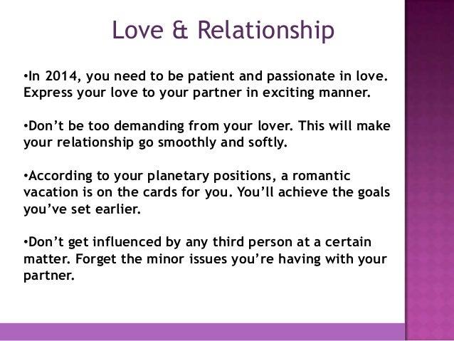 about virgo love horoscope