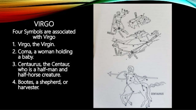 Virgo, libra, scorpio and sagittarius constellation