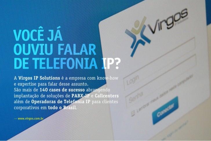 Apresentação: Virgos IP Solutions