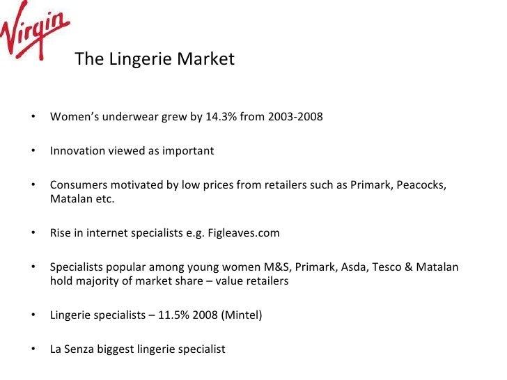 Lingerie Market Share 112
