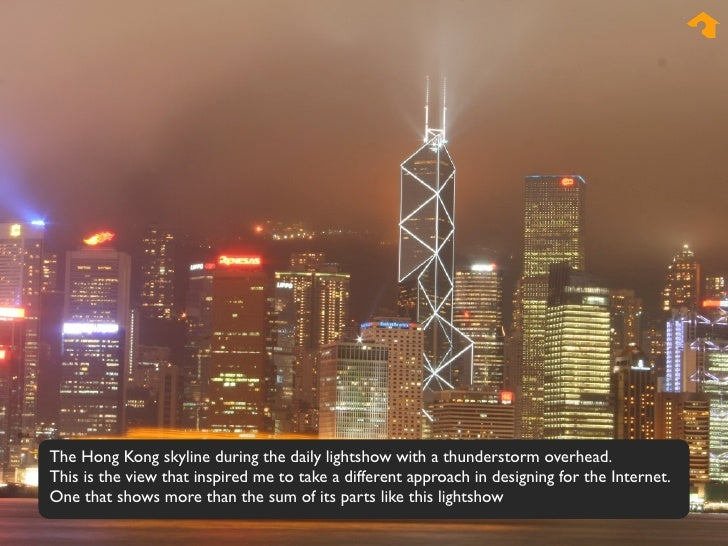 The Hong Kong skyline during the daily lightshow with a thunderstorm overhead. This is the view that inspired me to take a...
